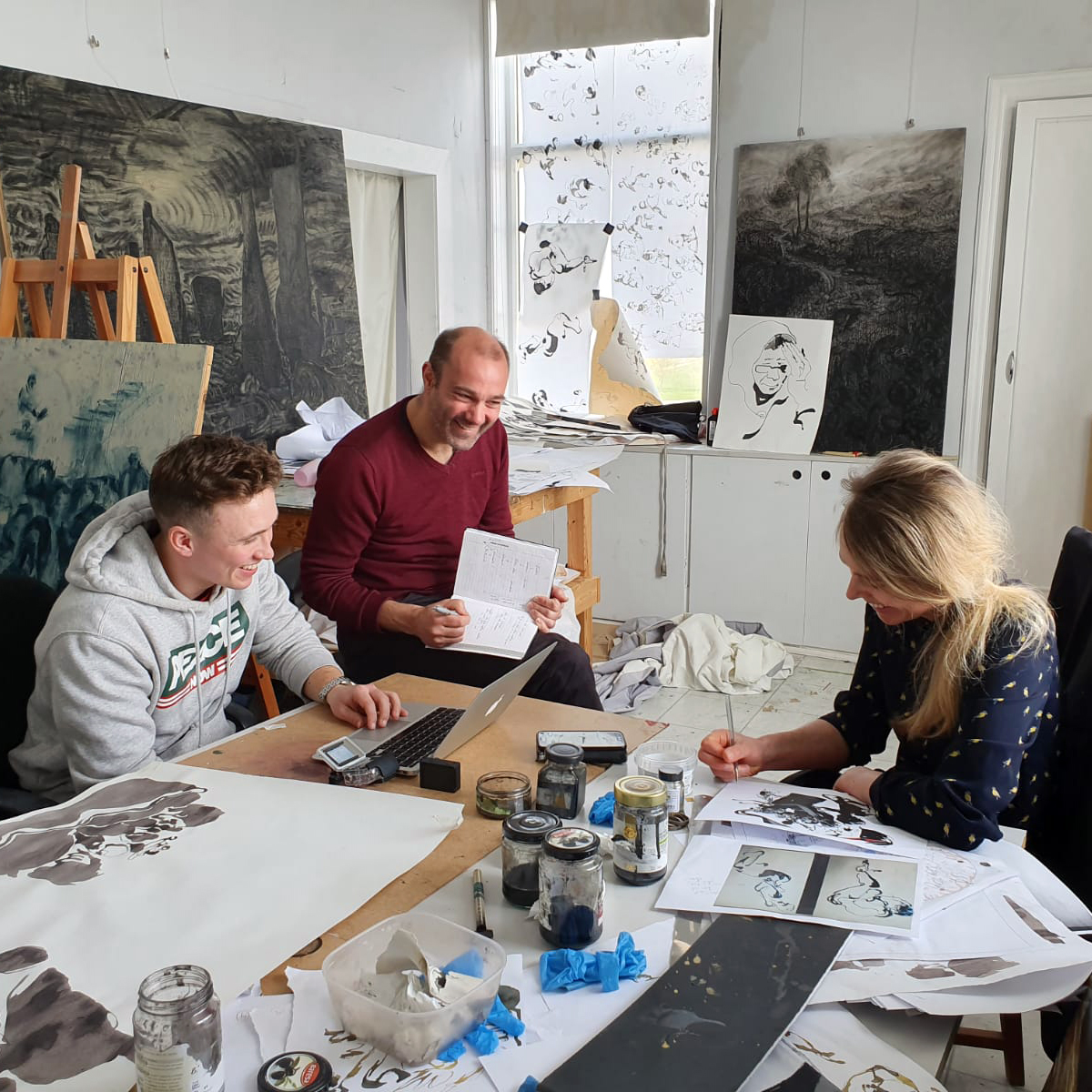 Kate Steenhauer, Andrew Starkey & Jack Caven